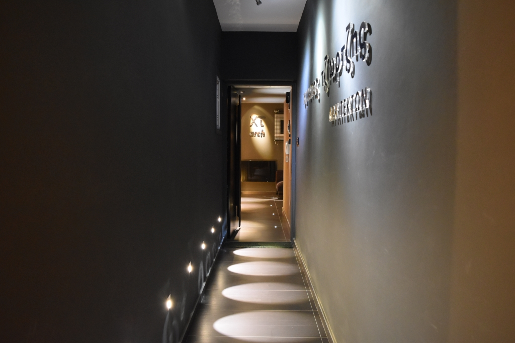 Christos Tziortzis - Office Entrance